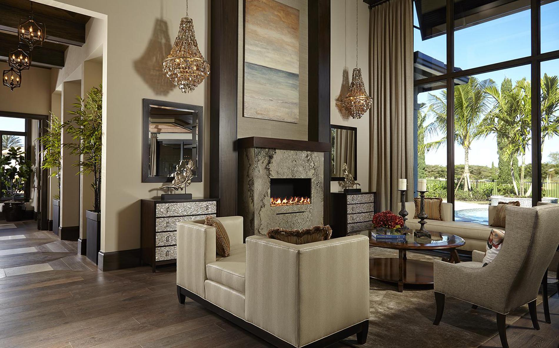 Modern Spanish Colonial Freestyle Interiors